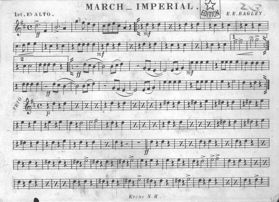 All Music Chords imperial march sheet music : Index of /scanned/scanned music/Finished/March - Imperial